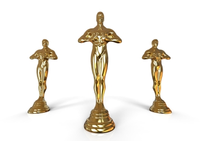 Oscar ceremony trophy blog