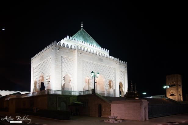 Mausoleum Mohammed V-2 in Rabat