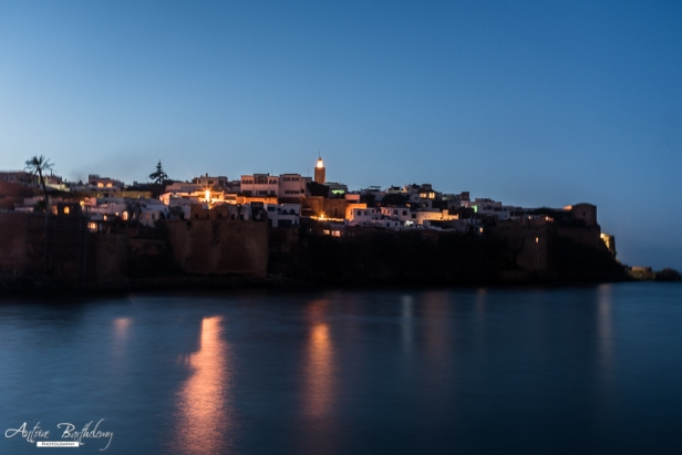 Kasbah Udayas and River Bou Regreg in Rabat