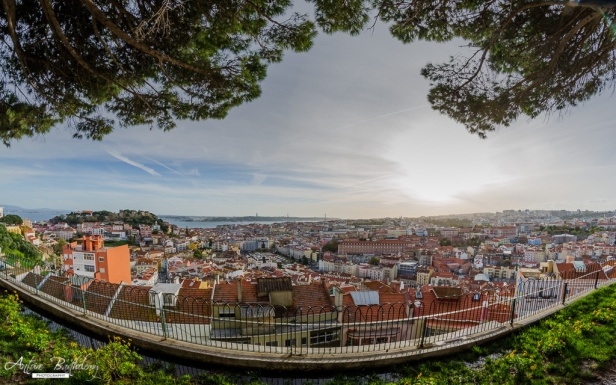 miradouro da senhora do monte best viewpoint Lisbon Portugal