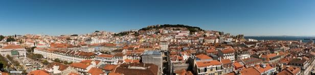 Santa Justa Elevator top 10 viewpoints Lisbon